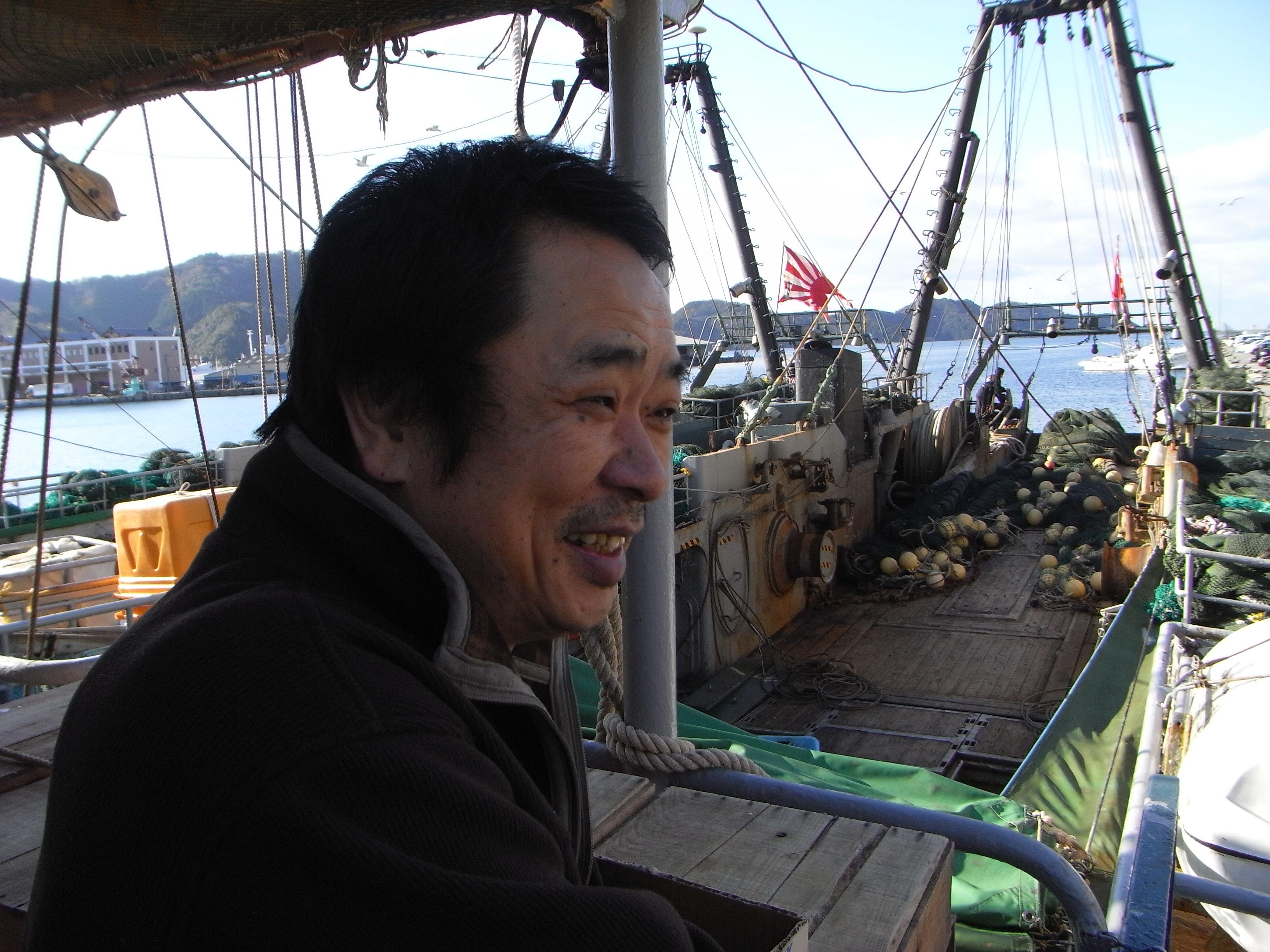 「常に美味しい魚を届けたい!そして何より地元で食べてもらいたい!」浜田淳二さん