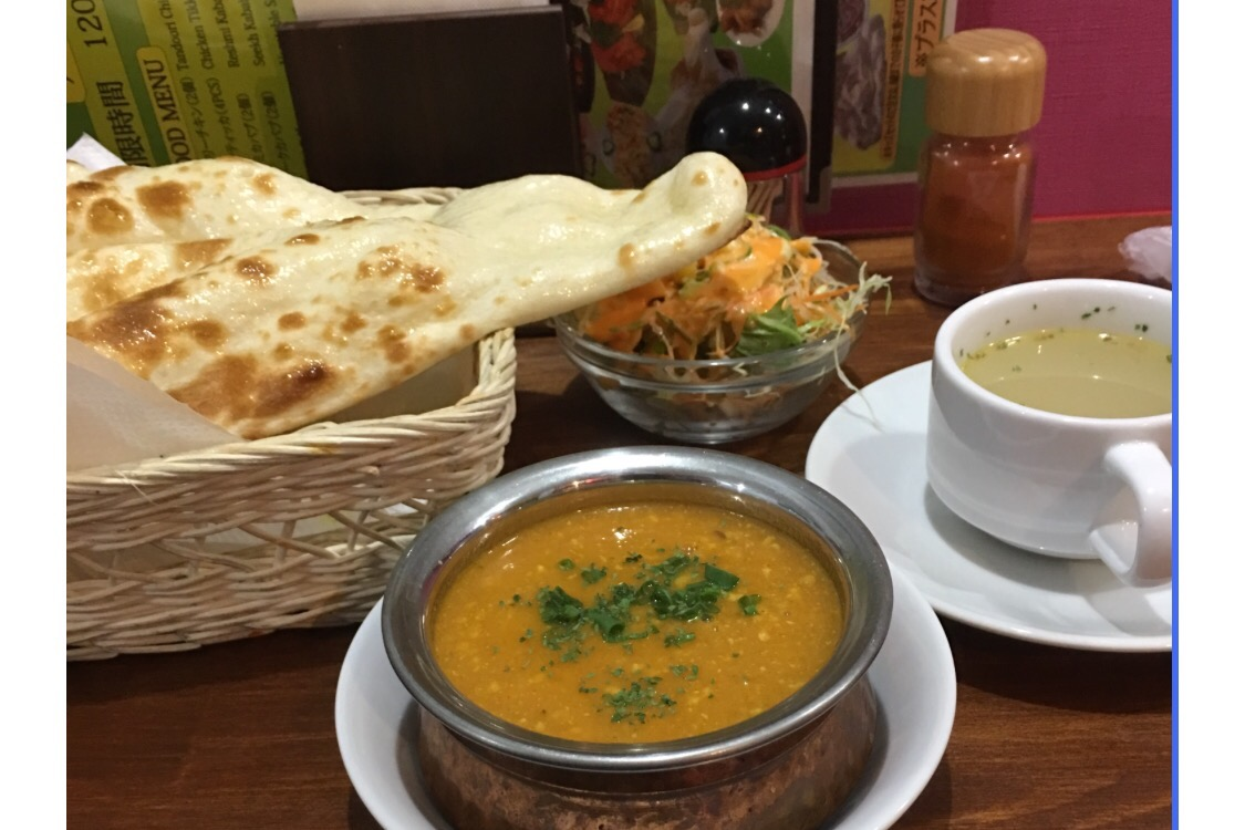 プレーンナン食べ放題!福音寺にあるインド・ネパール料理「シャンティ」に行ってきました!