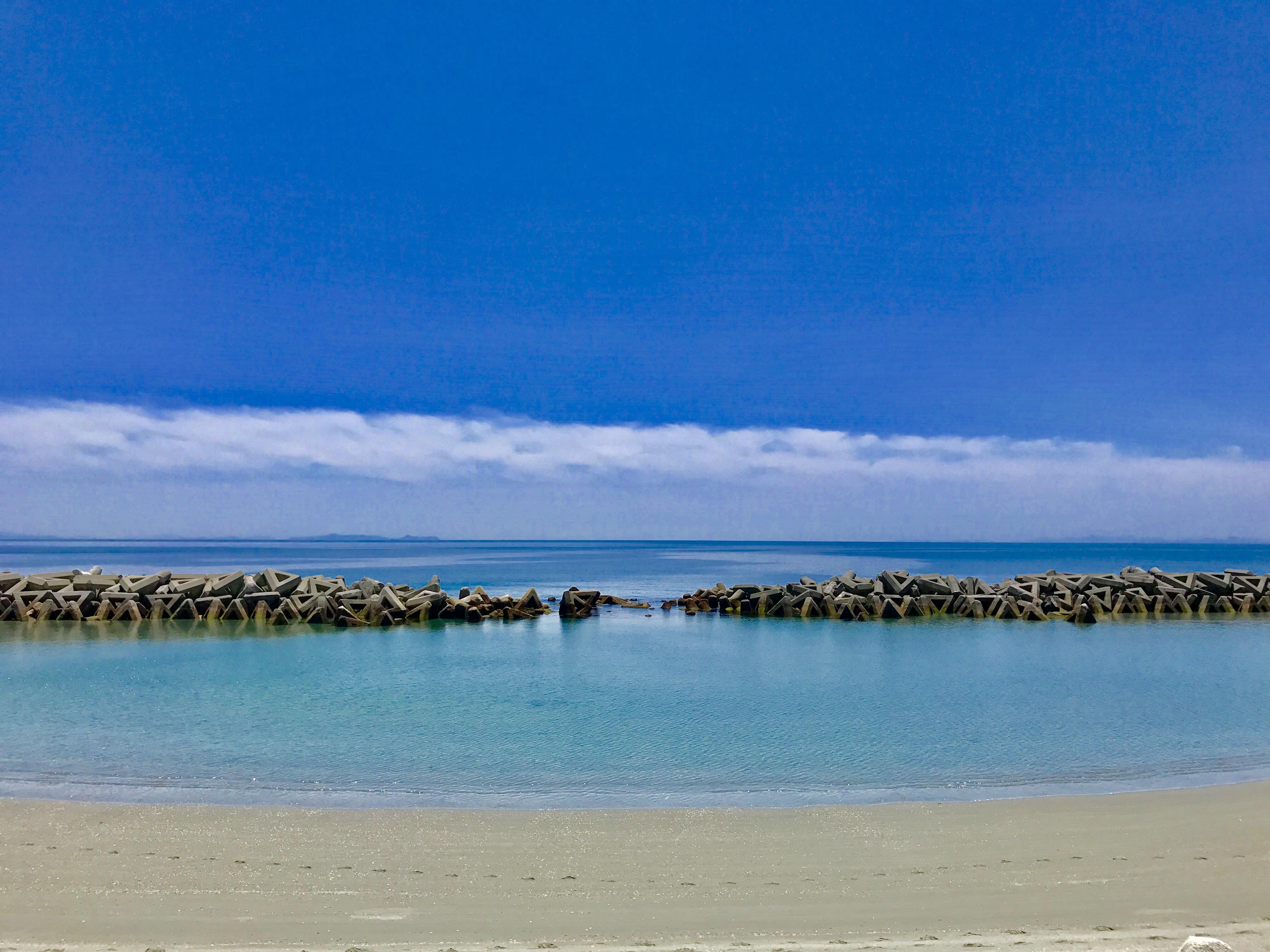 もうすぐ夏本番!散歩も良し、泳ぐも良しの伊方町・大久海水浴場がオススメです!