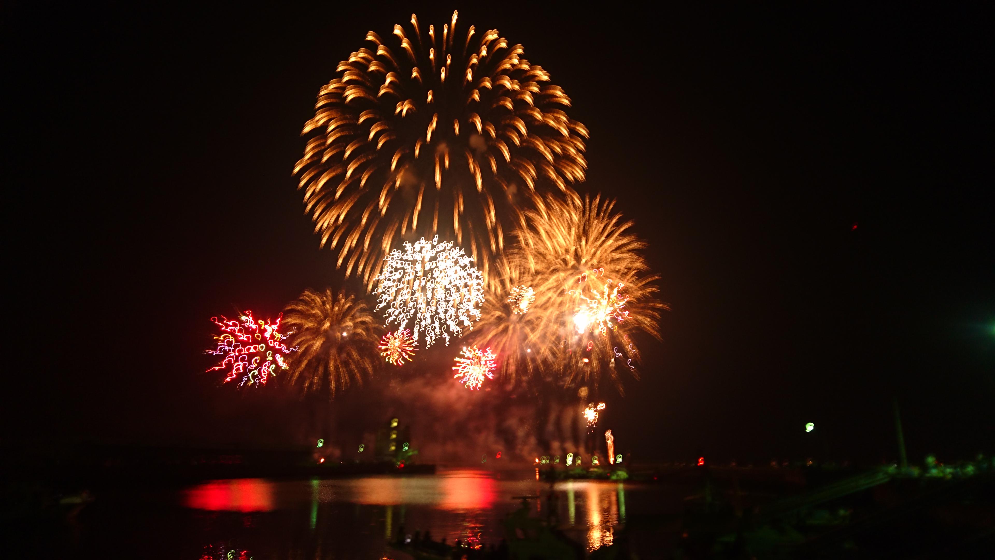 【県内の花火プチ情報付】夏だ!花火だ!!華麗に上がる「かわのえ夏まつり花火大会」に行ってきました!