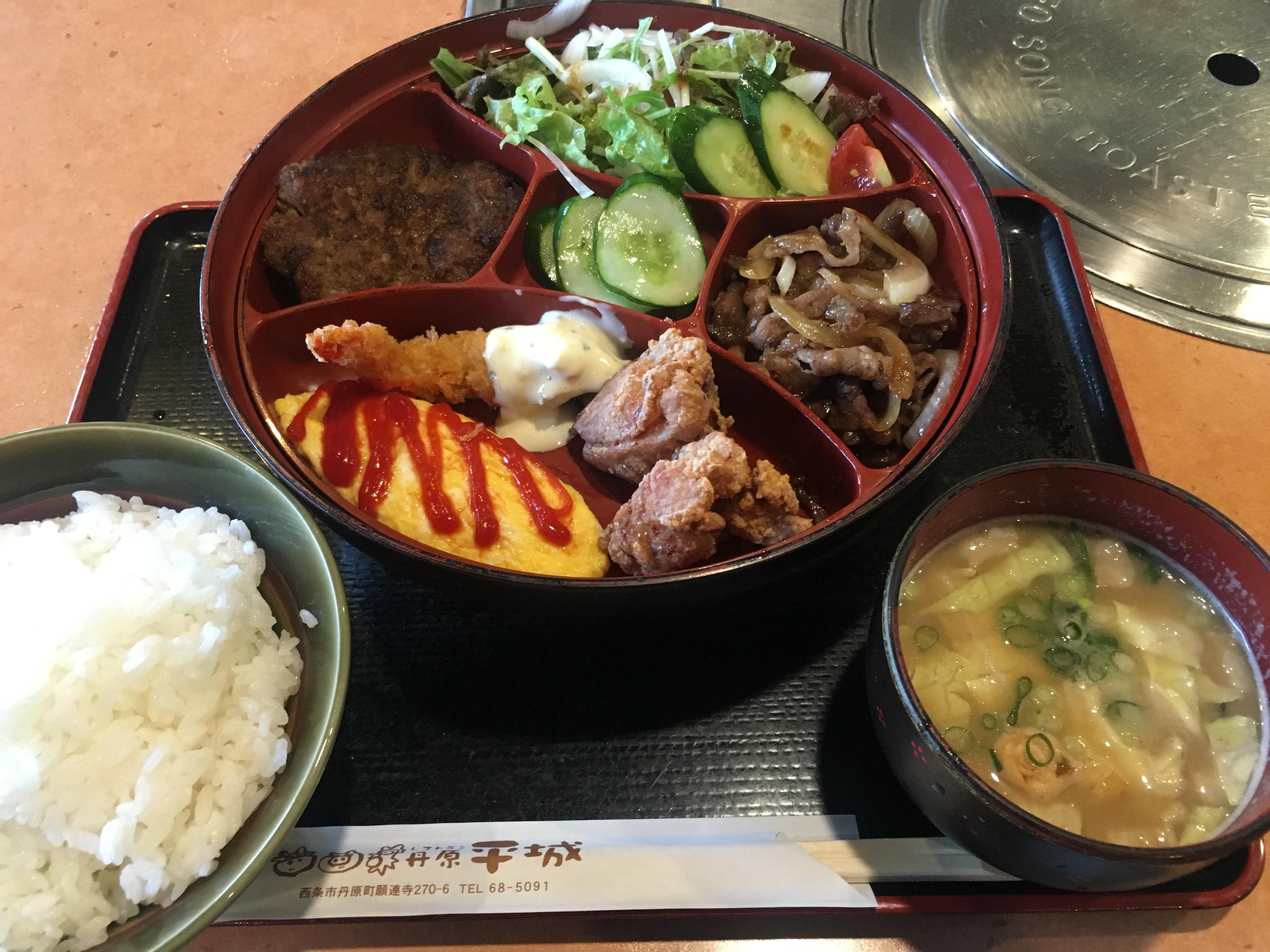 暑い夏をぶっ飛ばす!知る人ぞ知る西条市丹原の「平城」でスタミナ抜群の男飯を食うべし!