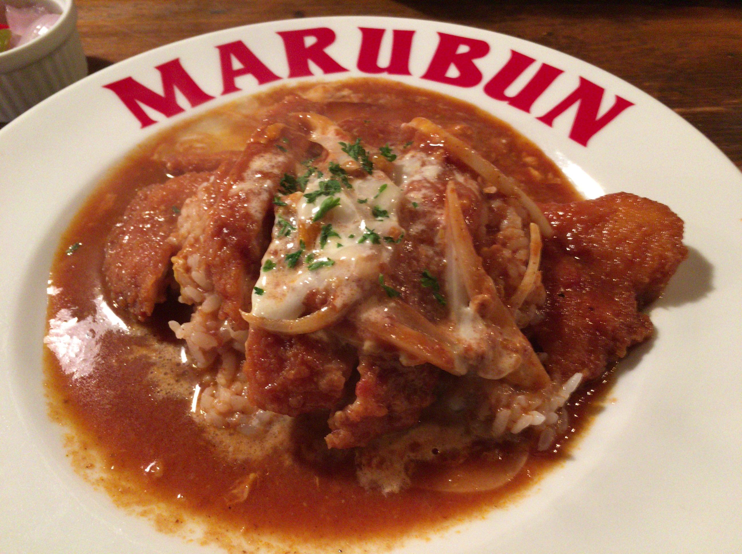 カツ丼とは一味違ったおすすめメニュー!西条が誇る有名洋食屋「MARUBUN」(マルブン)が作る「カツライス」を絶対食べに行くべし!!