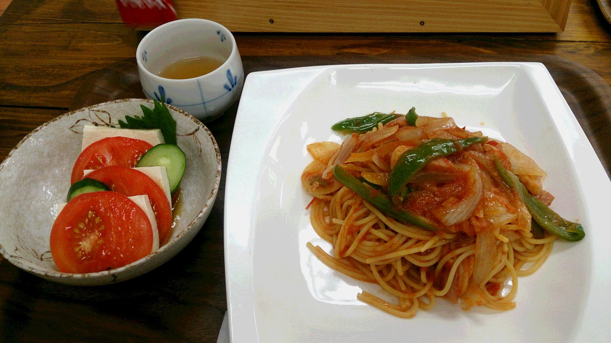 遊子川特産のトマトをふんだんに使用したメニューが人気!西予市城川町の「ゆすかわ食堂」 で「自家製ケチャップスパゲティナポリタン」を食べてきました!