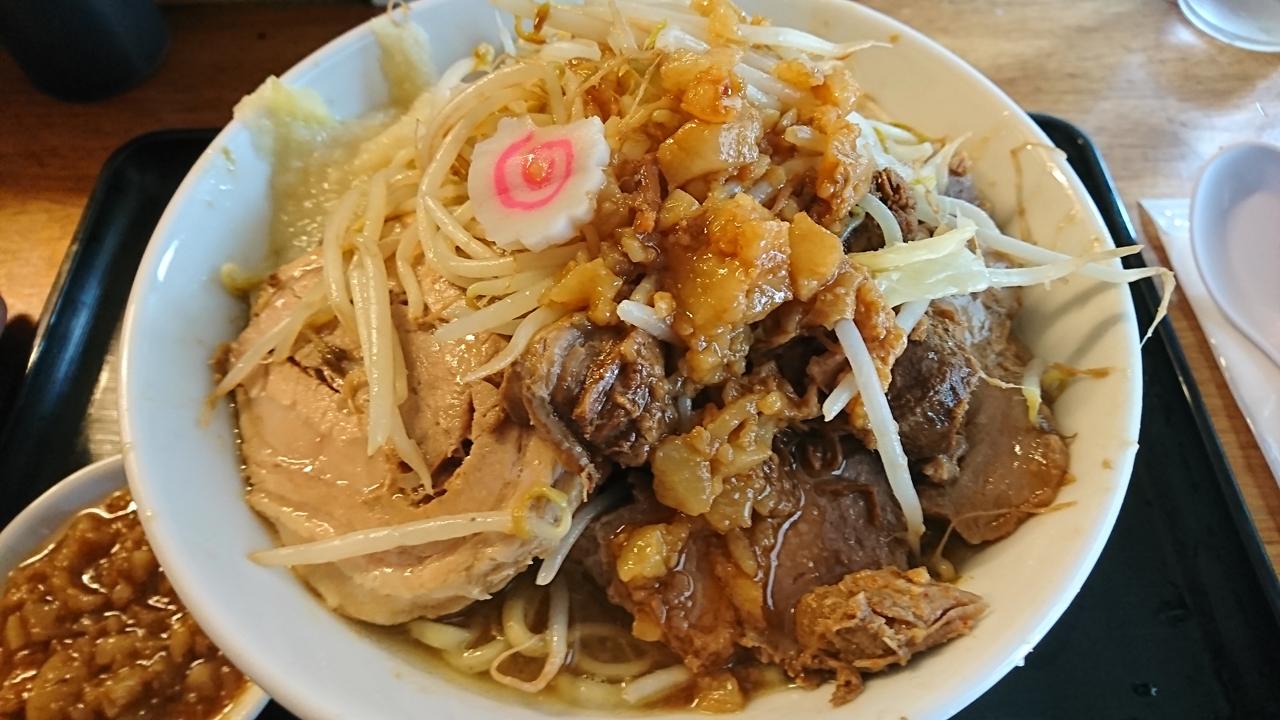 """""""二郎系""""のラーメンが食べられる!松山市の「豚麺アジト」へ愛媛でたぶん一番コッテリな麺を食べに行く!"""