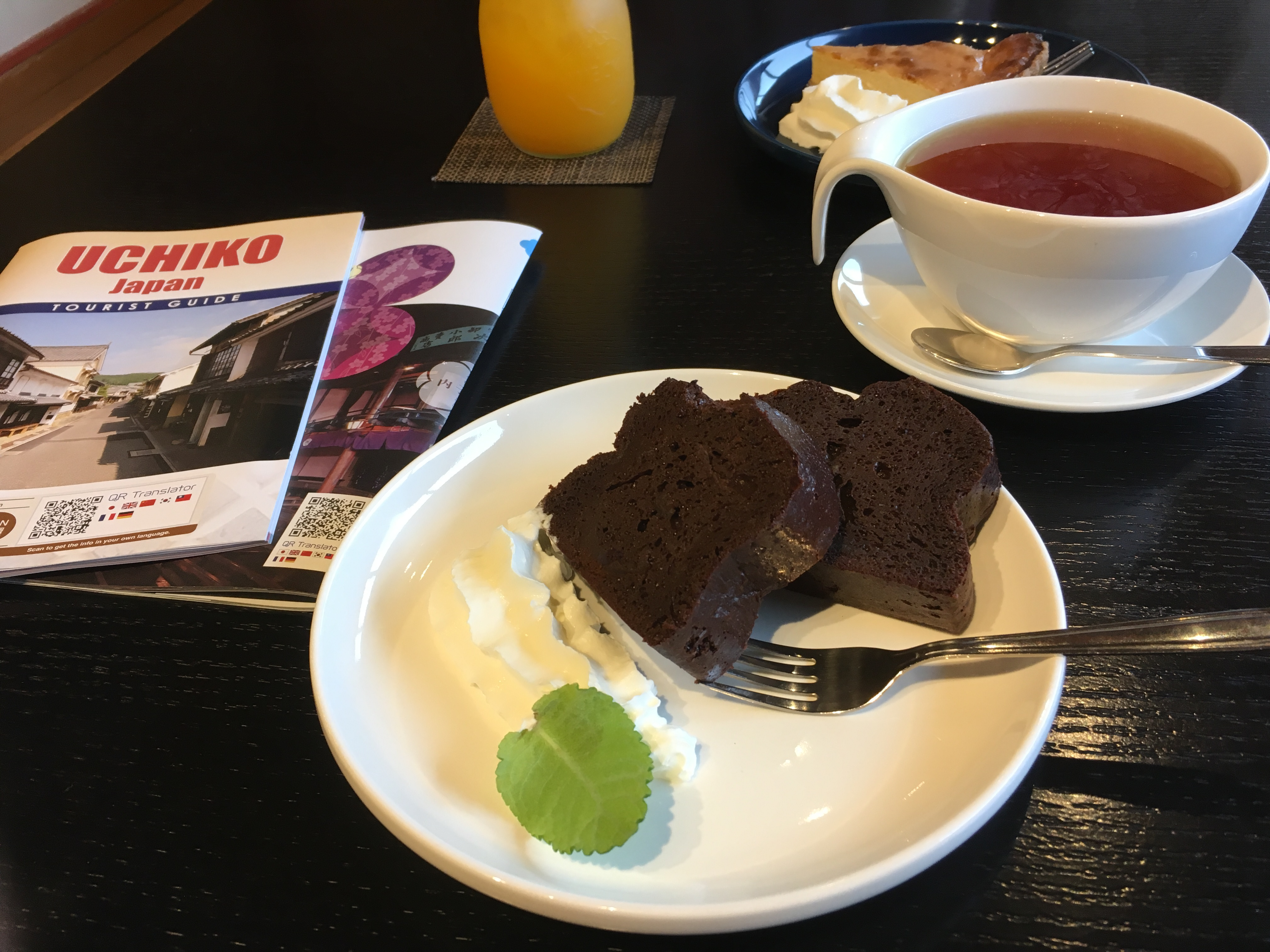 内子町の話題のカフェ!「FFC」で内子の紅茶とチョコケーキを食べてきました!