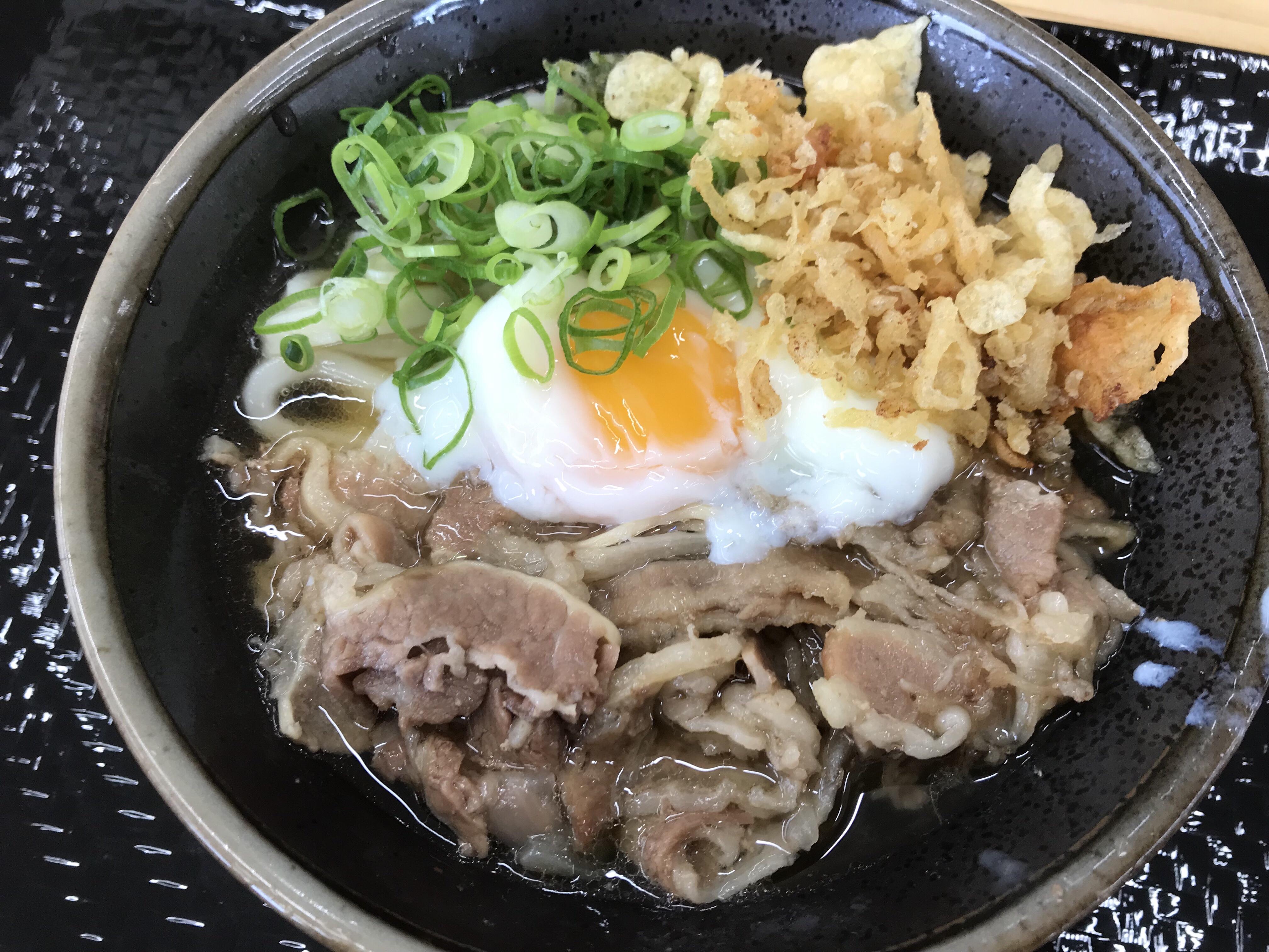 新居浜市にも「こがね製麺所」が登場!ツルツルの「肉温玉ぶっかけ」を食べてきました!