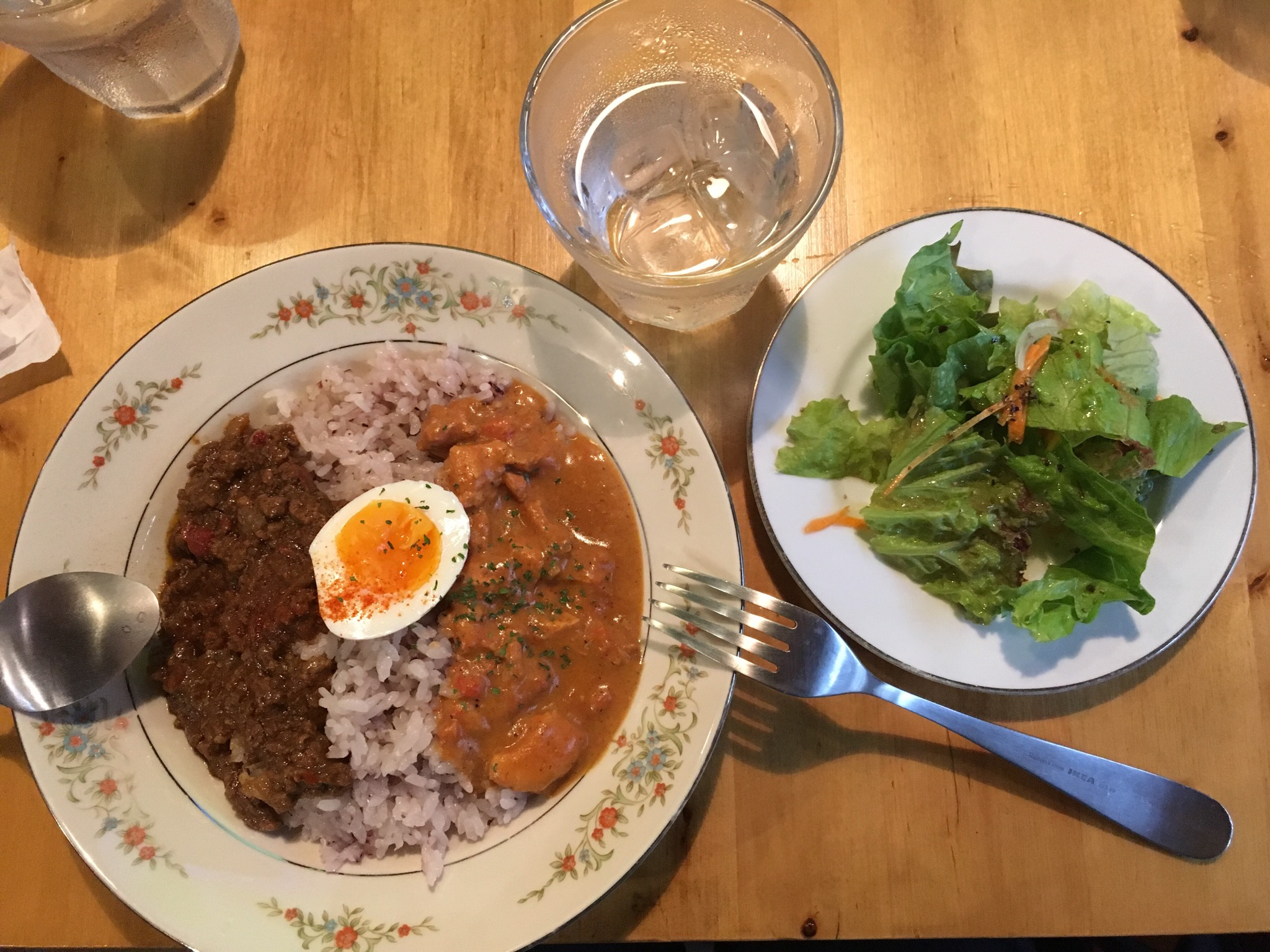 新規オープン!西予市宇和町にある「卯之町バールOTO」で人気のランチ(あいがけカレー)を食べてきました!