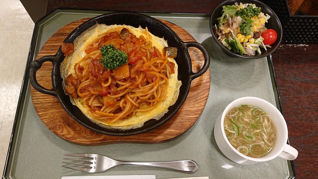 高速グルメもついに2周目! 石鎚山SA(上り線)の「浪漫食堂」で西条名物の「鉄板ナポリタン」を食べてきた!