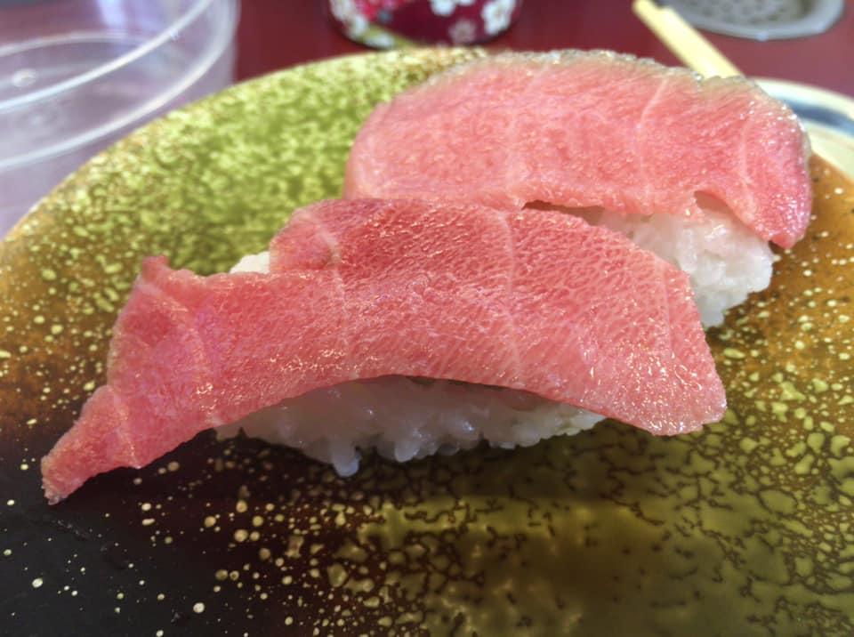 高知県発祥のお寿司屋が愛媛県西条市にもあった!回転寿司「寿司一貫」で本マグロのトロを食べて、プチ贅沢してきました!