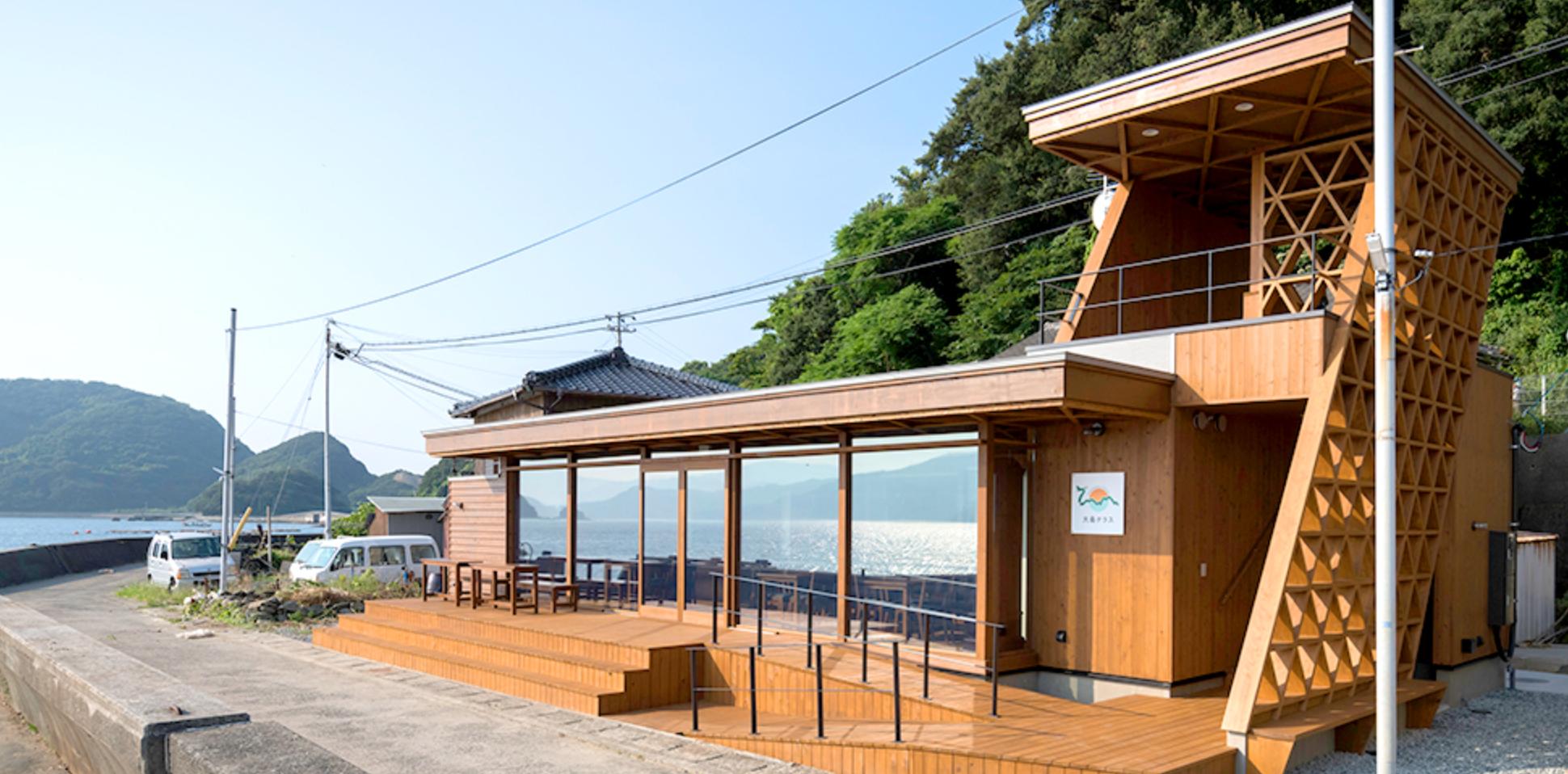 八幡浜大島テラスでしか食べられない!新鮮かつ捕りたての「刺身定食」と「アジフライ定食」を食べてきたよ!