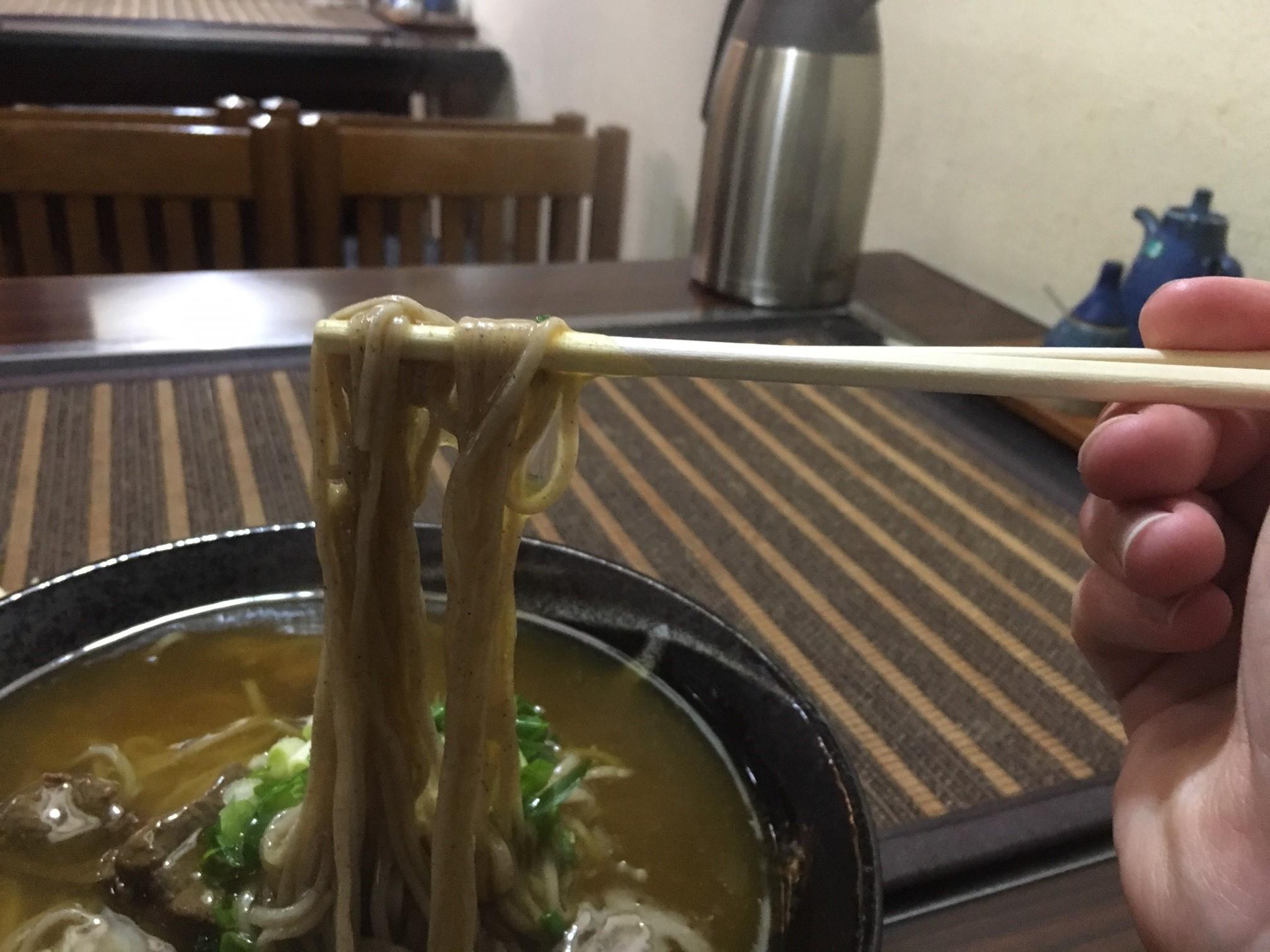 """定食を味わってほしい!八幡浜シメの定番、うどん静香の「カレー""""そば""""」を食べてきたよ!"""