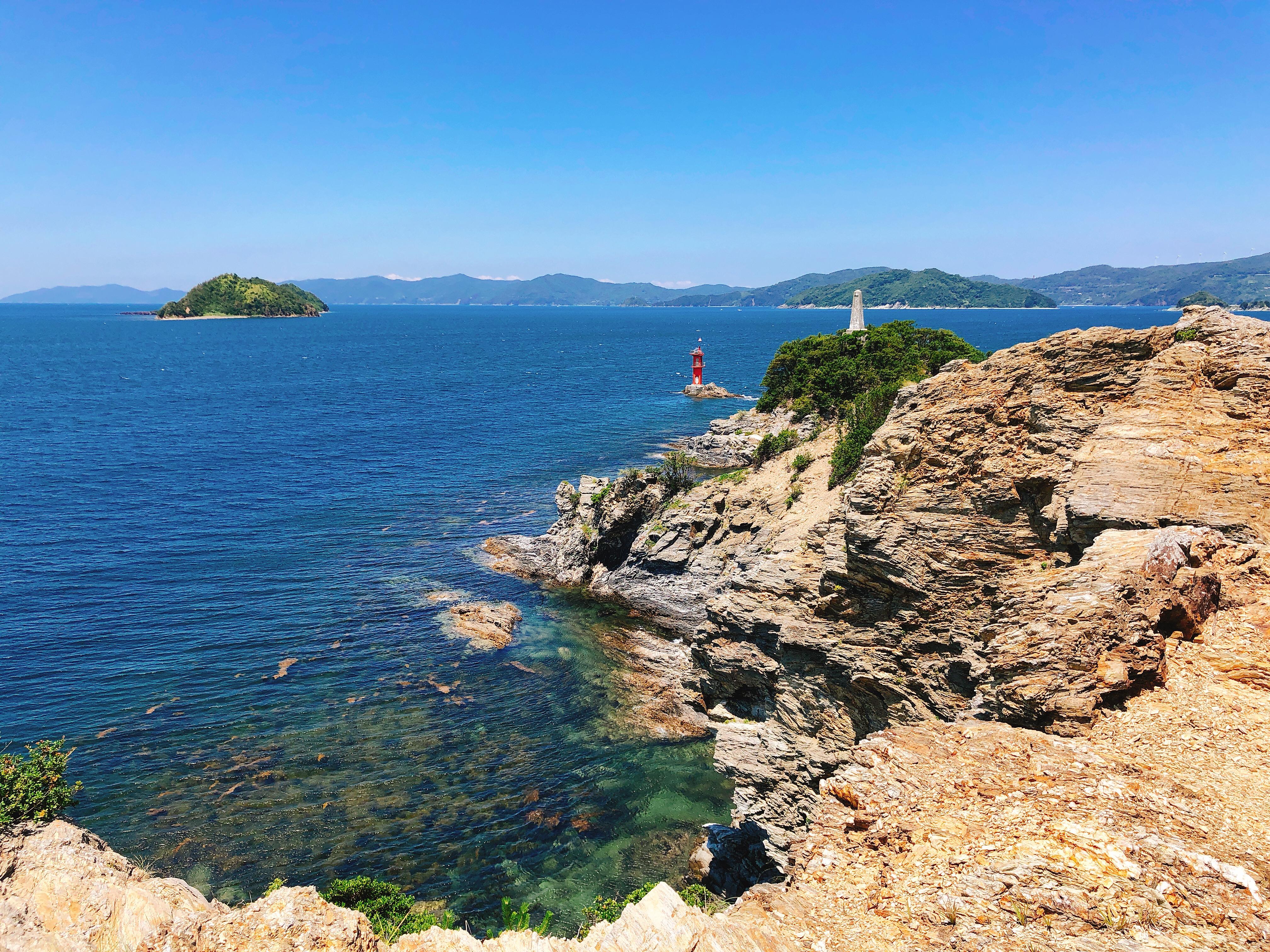宇和海の絶景と大自然を堪能できる! 八幡浜の見る観光スポット「諏訪崎」(すわざき)へハイキングしてきたよ!