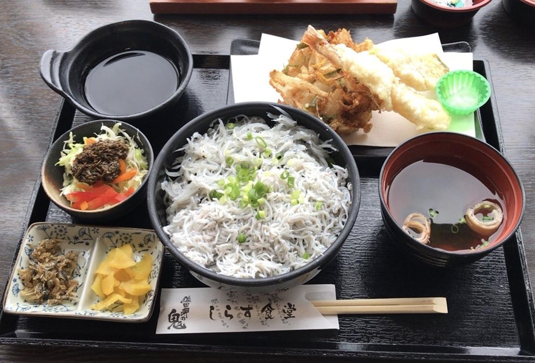 佐田岬名物!伊方町にある「しらす食堂」で「釜揚げ&生しらす」を堪能してきました!