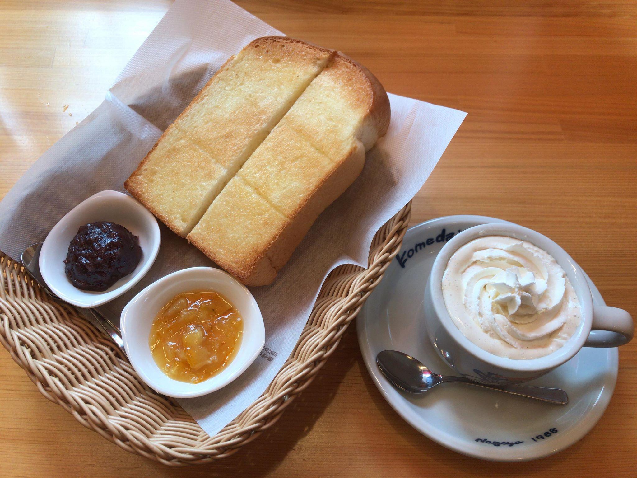 コメダ珈琲の「選べるモーニング」に「無茶々園の伊予柑マーマレード」が期間限定で追加されたので食べてみた!