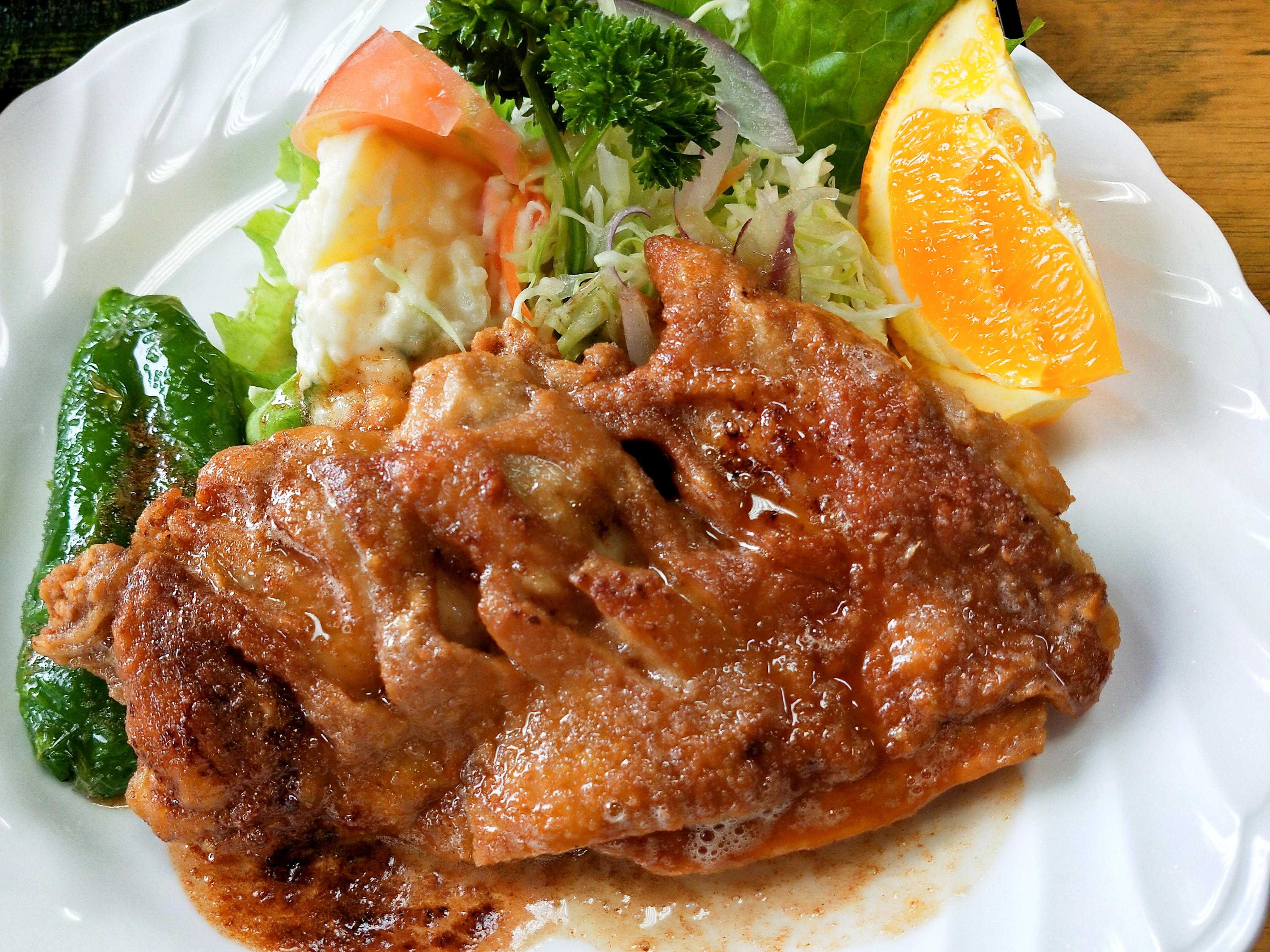 卯之町駅徒歩5分!西予市宇和にある「みのり」で絶品「チキンバター焼き定食」を食べてきました!