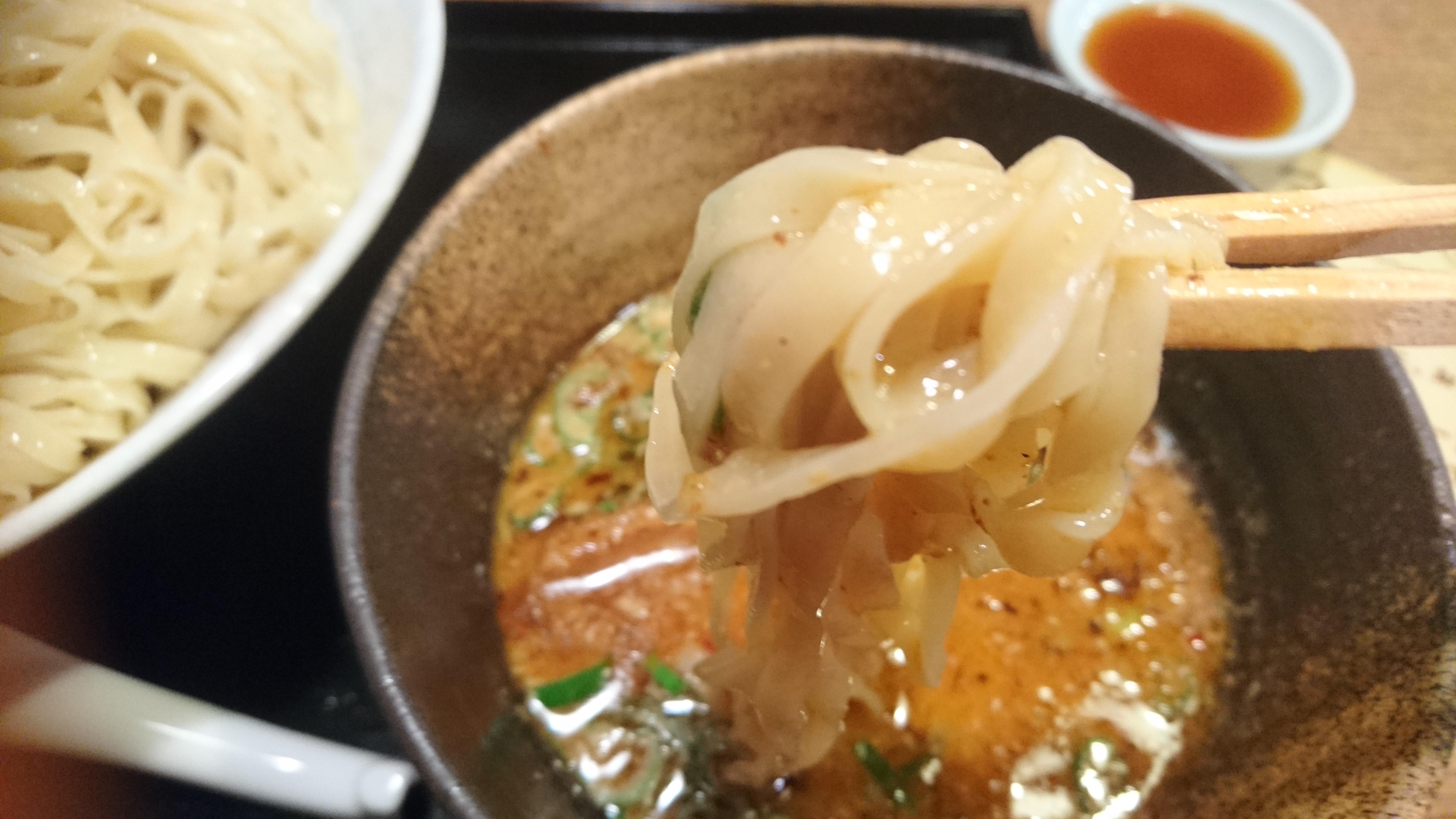期間限定!大盛りでもペロリといける!?りょう花の「味噌味玉つけ麺」を食べてきたよ!
