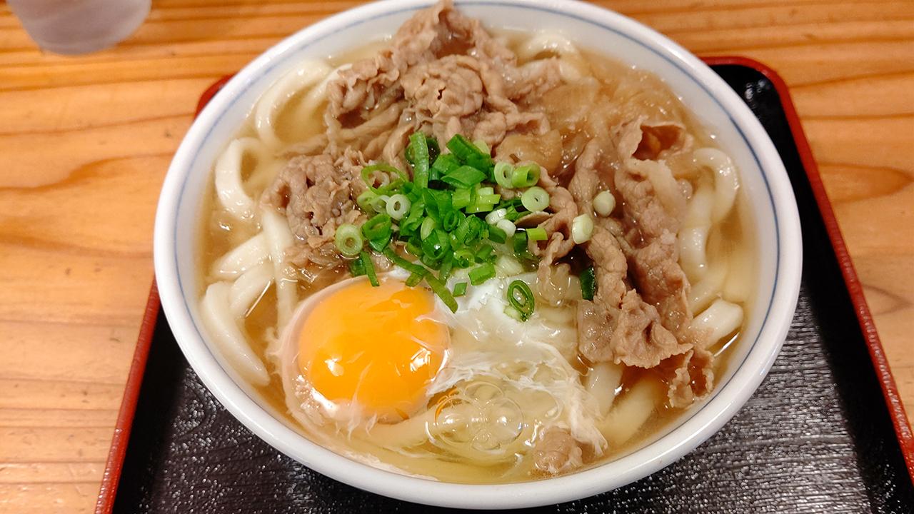 四国中央市の川之江駅からすぐ! 本格讃岐うどんの「たつ家」で肉うどんを堪能してきた!