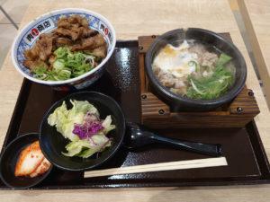 エミフルMASAKIに登場!四国初上陸の炭火焼肉丼と肉吸いの「肉丸商店」で「牛カルビ丼」を食べてきたよ!