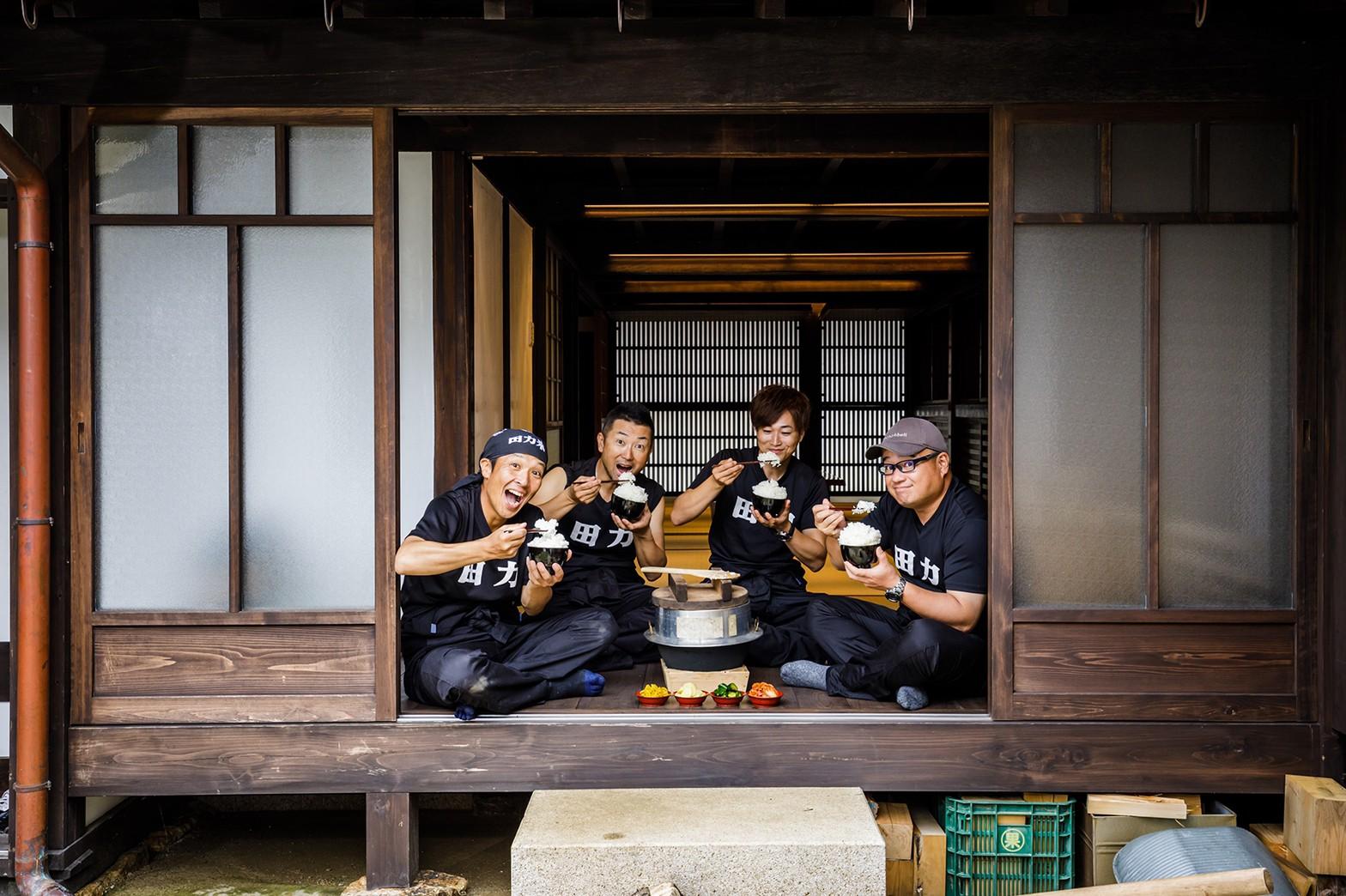 田んぼに力で男だ!宇和米に情熱を注ぐ男4人組「田力本願 株式会社」にインタビューしてきました!
