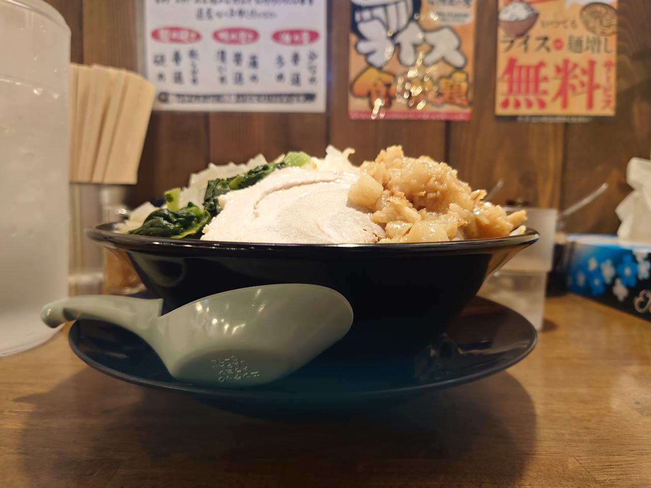 1日限定10食! 家系×二郎系の味を求めて新居浜市にある「稲和家」(いなわや)へ再び行ってきた!