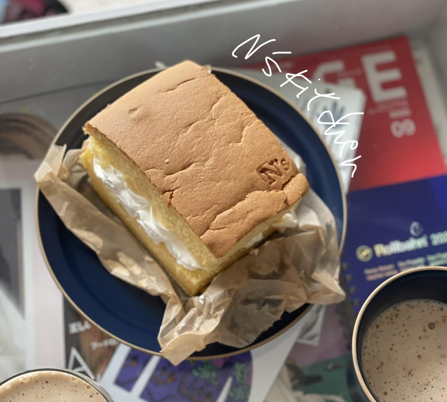 予約がおすすめ!松山市三津浜にある「 N's KItchen &labo」のふわしゅわ新食感!「台湾カステラ」を食べたよ