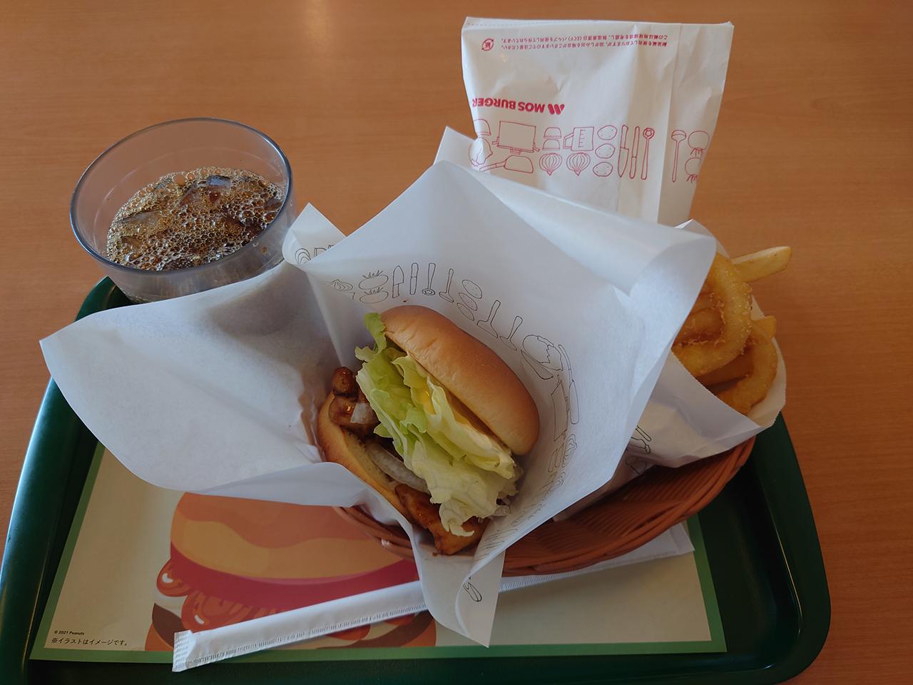 コロナで会食ができないなら同じものをみんなで食べよう。全国チェーンのモスバーガーへ行ってきたよ!