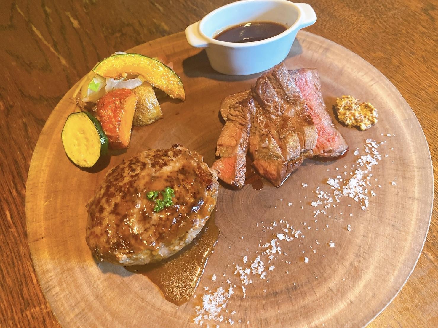 お肉が食べたくなったら「ゆうぼく民」がオススメ!「ステーキ&ハンバーグ」を食べてきたよ!