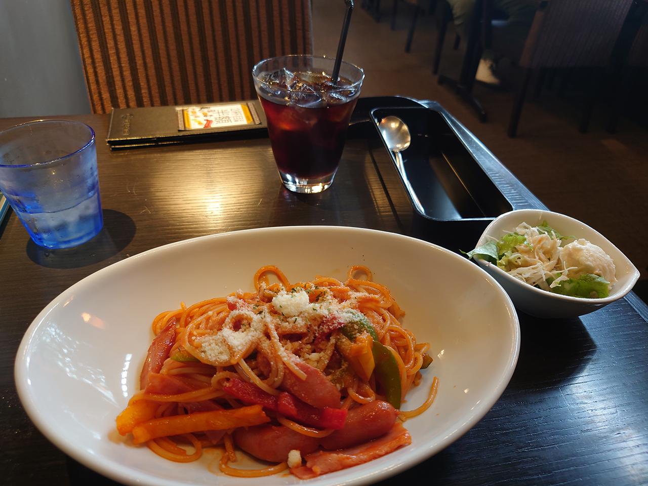 松山市の「元町珈琲」で優雅に喫茶ランチ!常設メニューの「幻の横濱ナポリタン」を食べてきた!